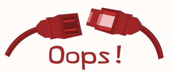 Website management oops!